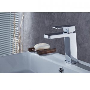 QUAZ square basin mixer chrome