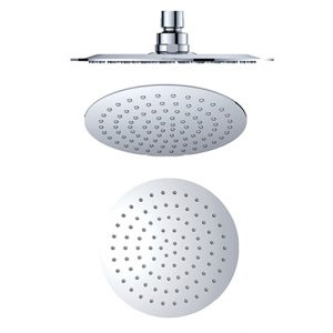 Stainless steel round fixed shower heads 250mm