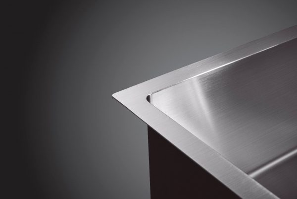 304 stainless steel drop in undermount kitchen laundry sink