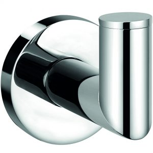 Pin round robe hook