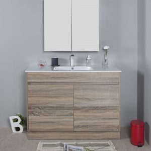 Rio 1200mm free standing vanity cabinet only
