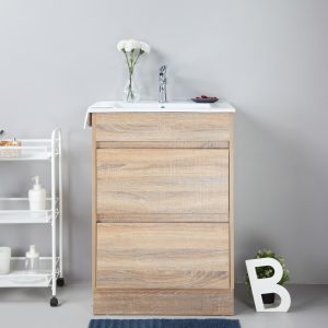 Rio 600mm free standing vanity cabinet only
