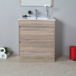 Rio 750mm free standing vanity cabinet only