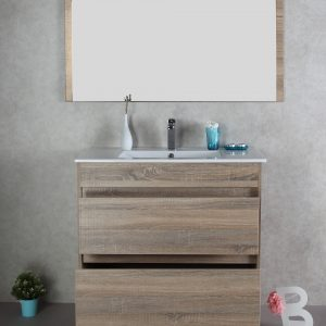 Rio 900mm free standing vanity cabinet only