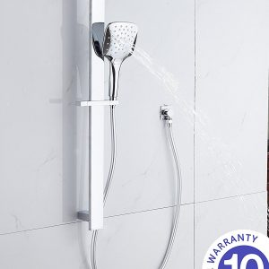 square massage hand shower rose