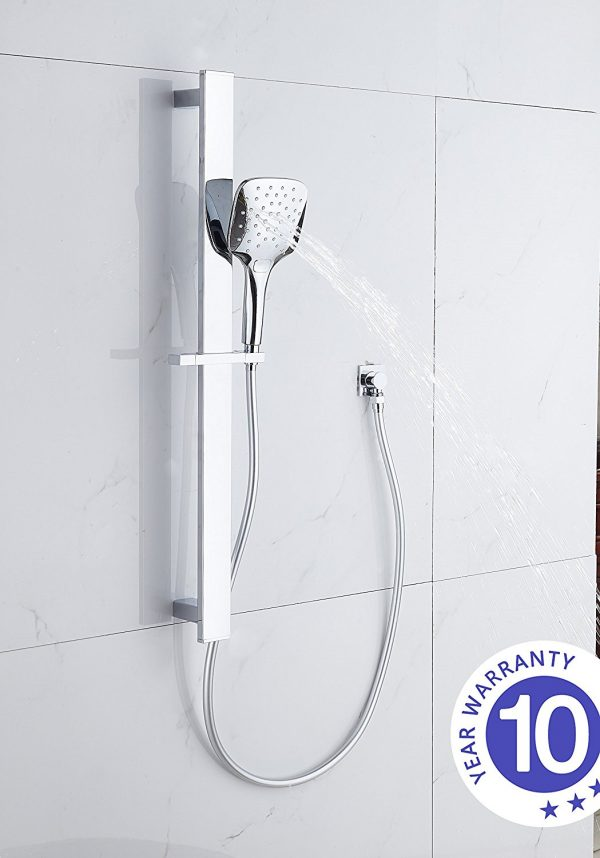square massage hand shower rose