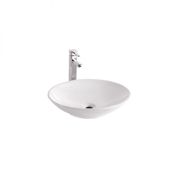 OVAL Ceramic Above Counter Wash Basin