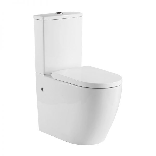 Aged Care Whirlpool Wall Faced Toilet Suite