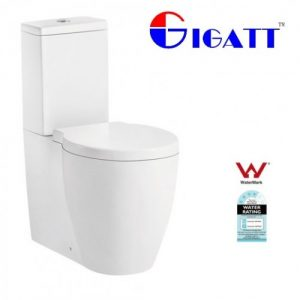 Gigatt Aquarius modern wall faced toilet suite