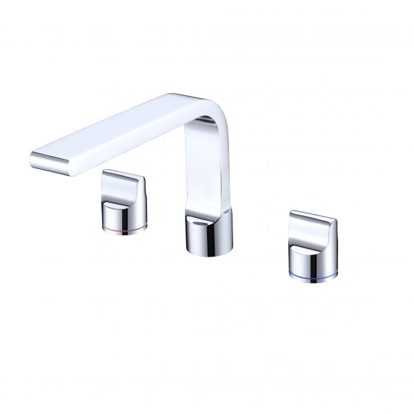 Buckle 3 tap holes basin tap set