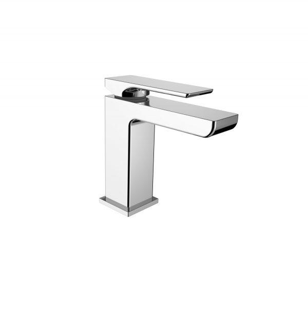 Astro square vanity basin mixer chrome