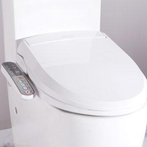 Smart electric toilet bidet seat