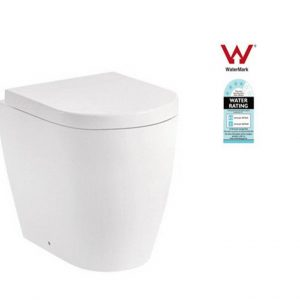 Concealed inwall cistern toilet suite S&P Trap Soft Close WELS