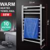 Round 10 heat rods heated towel rail