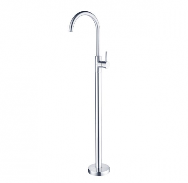Dolce floor mount bath spout with mixer