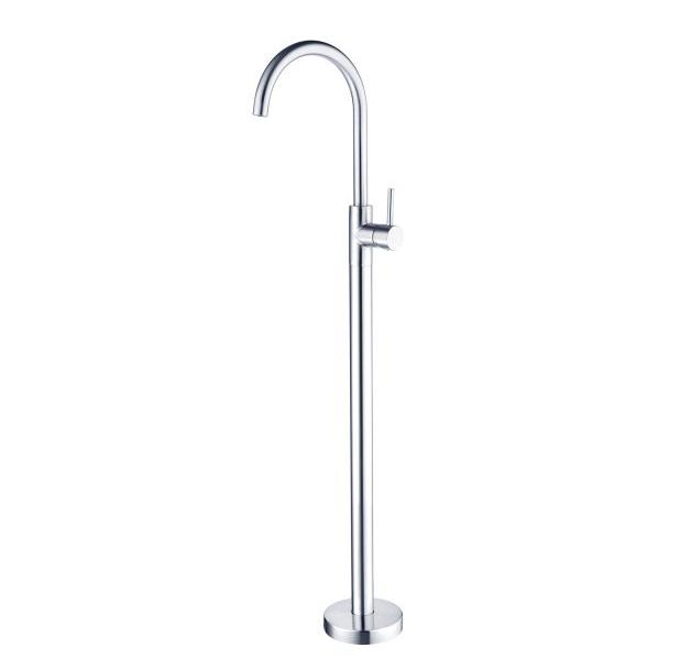 Dolce Floor Mount Bath Spout With Mixer Rio Bathroom
