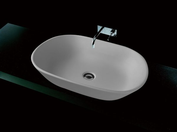 SELENE ABOVE COUNTER SOLID SURFACE BASIN