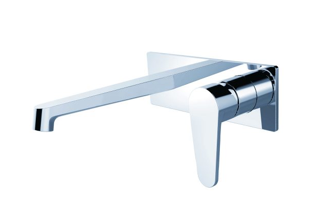 VITO WALL BASIN MIXER WITH OUTLET
